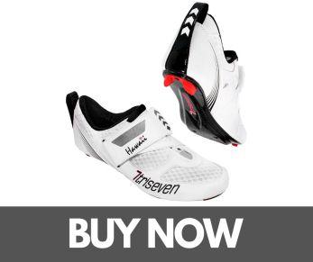 TriSeven Premium Carbon Triathlon Cycling Shoes