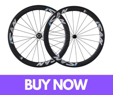 ICAN 50mm Carbon Road Bike Wheels