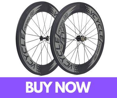 VCYCLE Nopea 700C 88mm Road Bike Carbon Wheel Set