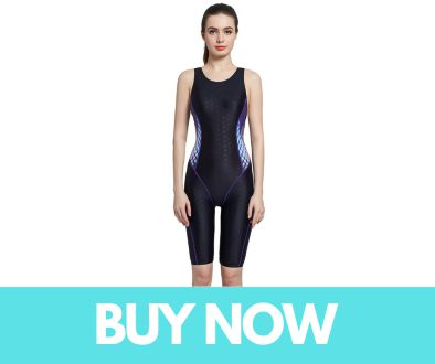 Srnfean Women's Athletic One Piece Swimsuit