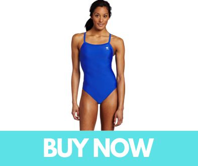 TYR Sport Women's Solid Diamondback Swimsuit
