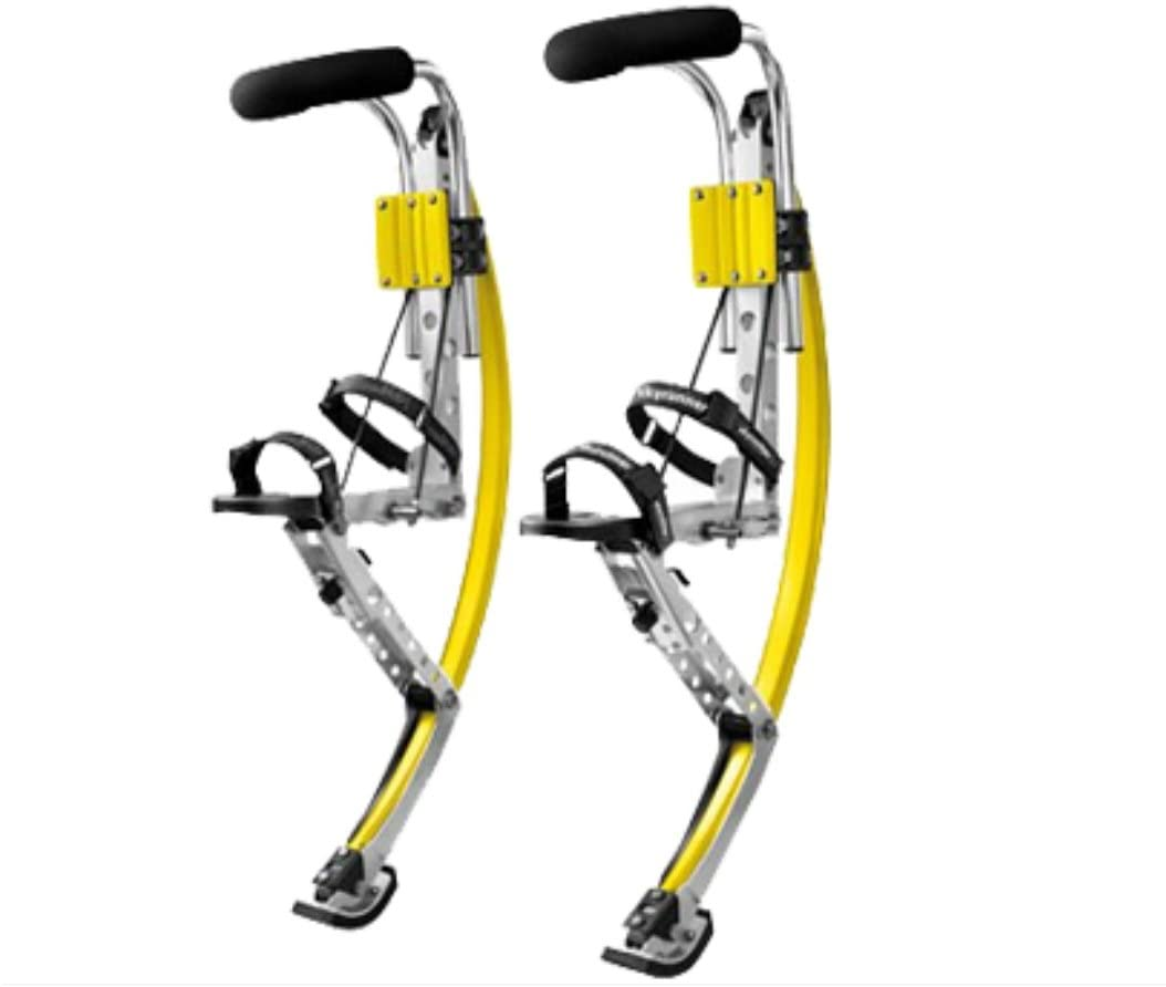 Skyrunner Adult Kangaroo Shoes Men Jumping Stilts Men Women Fitness Exercise Bouncing Shoes ( yellow )